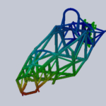 Structural analysis of a space framed formula car